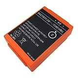 Bestome Batería de repuesto compatible con HBC Spectrum A BA225030 Technos Spectrum 2 Linus 6 Radiomatic Eco Spectrum 1 Spectrum B 005-01-00615 BA205000 BA205030 BA206000