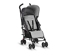 From tiny to toddler: Suitable for newborn babies right up to 25 kg, with a roomy, padded lie-flat seat and multi-position recline Grows with your baby: A robust chassis and wide backrest means your little one can keep comfortable and supported in th...