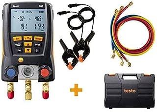 Testo 550 Digital Refrigeration Manifold Kit With Bluetooth 0563 1550