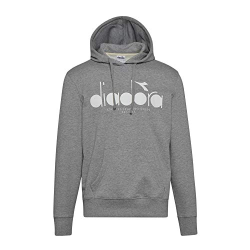 Diadora - Felpa Hoodie 5PALLE per Uomo (EU XXS)