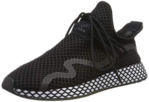 adidas Herren Deerupt New Runner Sneaker, Schwarz (Core Black/Core Black/Footwear White 0), 43 1/3 EU