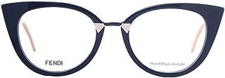 فيندي نظارات شمسية للنساء، عدسة شفافة، FF0127-MQP-48