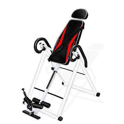 Sale!! HAIPHAIK Heavy Duty Inversion Tabl - Adjustable Inversion Therapy Table,Back Stretcher Machin...