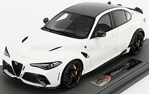 BBR-MODELS 1/18 ALFA Romeo Giulia GTA 2020 Bianco Trofeo - White BBRC1851B1-VET