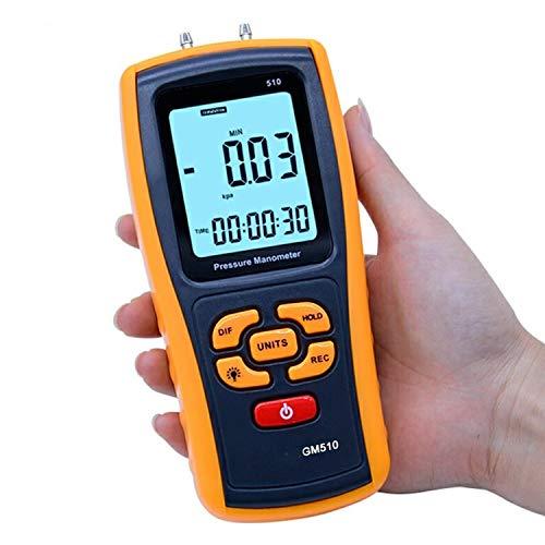 Dhmm123 Digital Tragbare Digitale LCD-Anzeige Druckmanometer GM510 Max Druck 50 kPa Differentialmanometers Manometer Spezifisch