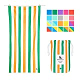 Dock & Bay Beach Accessories Quick Dry Towel - Lazy Afternoons, Large (160x80cm, 63x31) - Pool Towel for Swimmers, Compact & Lightweight Towel