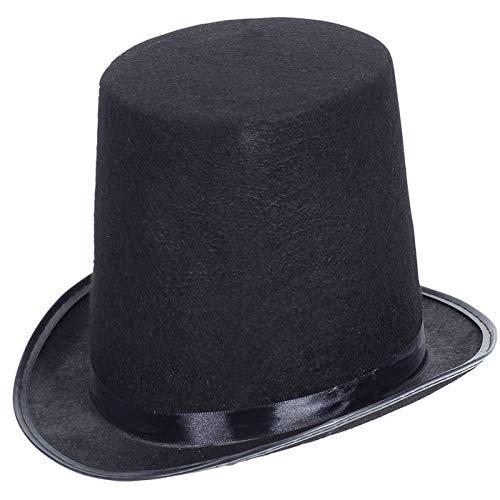 PARTY DISCOUNT® Hut Zylinder extra Hoch, schwarz
