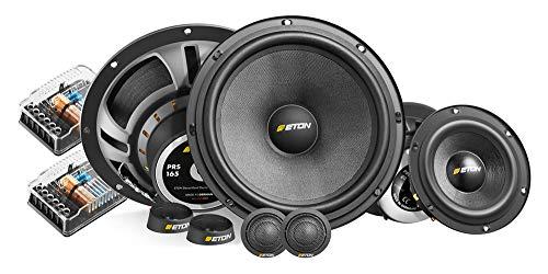 Eton PRS 165.3-16,5cm 3-Wege-Kompo-Lautsprechersystem - Lautsprecher mit 4 Ohm, 70 Watt RMS Nennleistung und Glasfaserpapiermembrane
