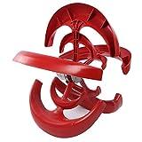 【𝐏𝐫𝐨𝐦𝐨𝐜𝐢ó𝐧 𝐝𝐞 𝐒𝐞𝐦𝐚𝐧𝐚 𝐒𝐚𝐧𝐭𝐚】Generador de viento, Generador vertical de generador, Tipo de linterna roja 200W Generador de energía eólica Barco de acero de aleación RV para cabina d