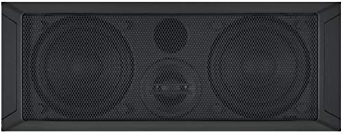 "Jensen JWMS350HP High Performance 3.5"" Panel Mount Speaker, Designed to be Used with JWM70A and JWM90A Wall Mount Stereos, 2-Way Acoustical Design, Tuned/Ported Enclosure, Mesh Style Metal Grille"