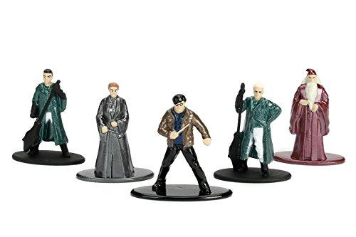 Harry Potter- Set B con 5 Figuras de Metal 4cm (Dickie 3180002)