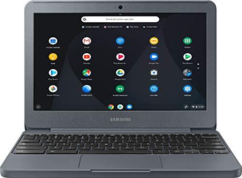 Samsung - 11.6' Chromebook - Intel Atom X5 - 2GB Memory - 16GB eMMC Flash Memory - Night Charcoal