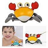 Badespielzeug, Baby Bad CrabToys, Safe Lovely Clockwork Crab Modell Wasser Spaß Spielzeug für Kinder lernen