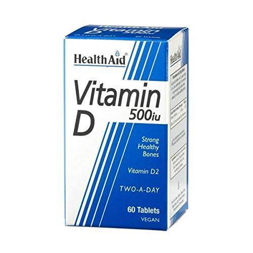 HealthAid Vitamin D 500iu - 60 Tablets