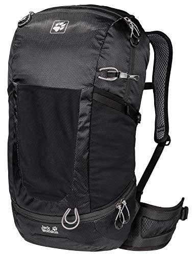 Jack Wolfskin Kingston 30 Pack Daypack Rucksack, Black, ONE Size