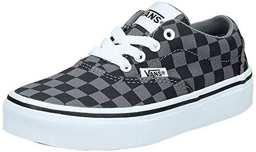 Vans Doheny, Sneaker Unisex niños, Checkerboard Black/Pewte