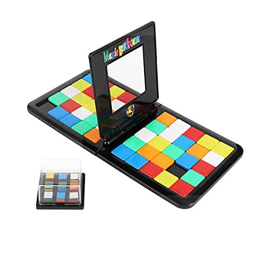 EACHHAHA Magic Block Game Gioco da tavolo per due giocatori Gioco di puzzle Un puzzle game competitivo per due persone evoluto da Cubo Magico Adatto per feste per bambini e regali di compleanno