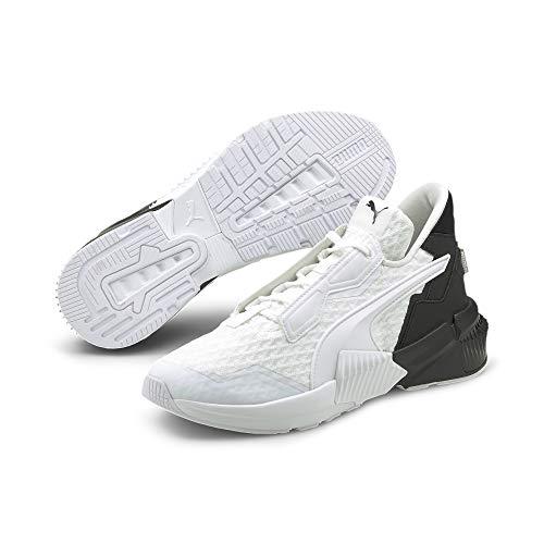PUMA Women's Provoke XT Cross Trainer Sneaker White Black, 7.5