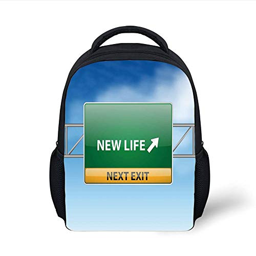 Kids School Backpack Going Away Party Decorations, Life Conc