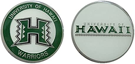 """University of Hawaii """"Warriors"""" Collectible Challenge Coin - Logo Poker - Lucky Chip"""