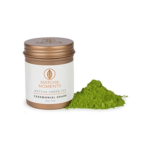 Matcha Green Tea Powder   Ceremonial Grade Japanese Tea   Boosts Immune System   Detox & Energy   Fair & Sustainable, Farm to Cup Superfood from Japan (1.06oz / 30g)