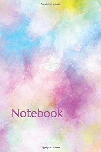 Pastels Sketchbook: Notebook for Girls - Size (7.5'x9.75') With Lined Pages, Perfect for Journal, Doodling, Sketching and Notes