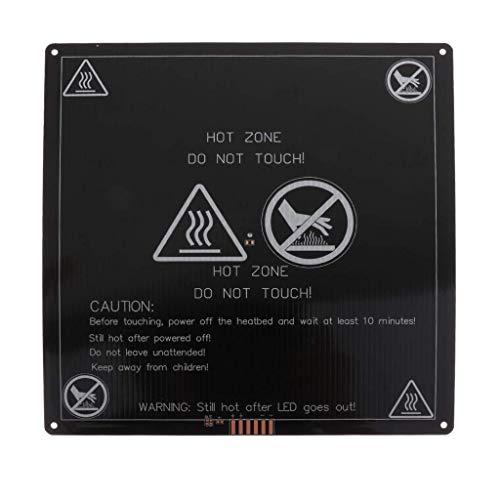 FYYONG Aluminio calentado Caliente Cama PCB Plataforma for Heatbed 220x220x3mm Impresora DIY 3D