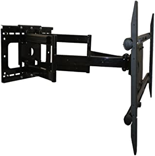 Premium Dual-Arm Articulating Tilt Swivel TV Wall Mount for LG 55LM6200 3D LED Smart TV **Top Seller** Extends 32 Inches