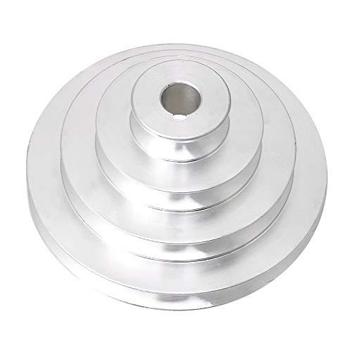 Bqlzr, puleggia pagoda a 4 gradini, diametro esterno 41 mm a 130 mm, in alluminio, diametro esterno 16 mm, per cinghia dentata tipo A
