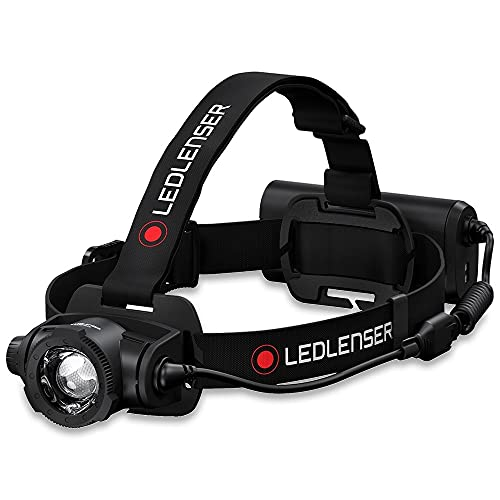 Ledlenser H15R Core, Stirnlampe LED, Kopflampe, 2500 Lumen, Leuchtweite 250 Meter, mit Akku, wiederaufladbar, inkl. Magnetladekabel