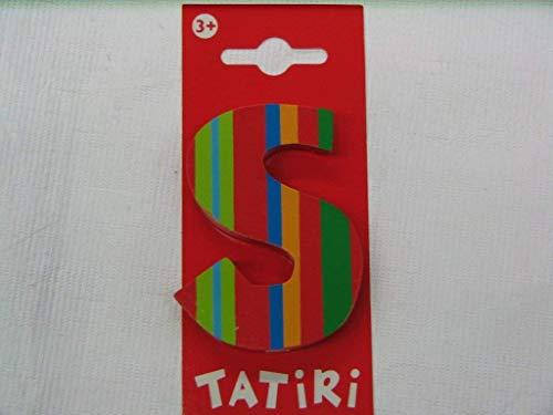 Trendhaus TRENDHAUS929143Lettera S in Legno