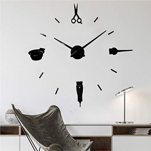 Leuchtende Wanduhren Große Uhr Uhr Horloge 3D DIY Acryl Spiegel Aufkleber Quarz Duvar Saat Klock Moderne stumme Wanduhren