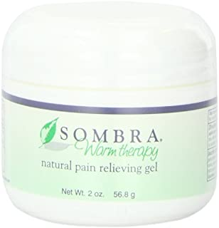 Sombra Warm Therapy Natural Pain Relieving Gel, 2-Ounce (Pack of 2)