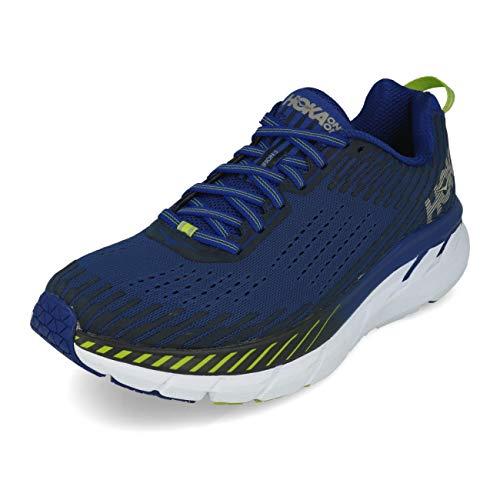 Hoka Clifton 5, Zapatillas de Running por Hombre, Azul (SodaliteBlue/MoodIndigo SBMI), 42 EU