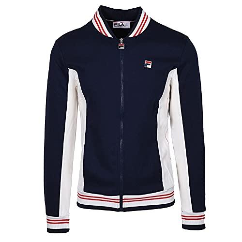 Fila pour des Hommes Settanta Track Jacket, Bleu, 3XL