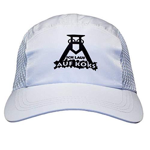 Ich lauf auf Koks Running Cap | Kappe aus Funktionsfaser mit Ruhrpott-Charakter