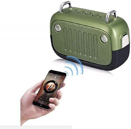 Travel Outdoor IPX5 Waterproof Wireless Bluetooth Speaker,with LED Lighting,FM Portable Jeep Speaker