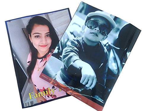 "YAHVI Personalized Magazine Style Photo Album Book (Multicolor, 9""x11"", 32 Pages)"