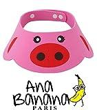 Ana Banana Paris : Visière de Bain pour Shampoing (Cochon)