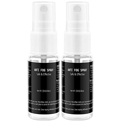 YEGE 2-Pack Anti Fog Spray for Glasses | Safe for
