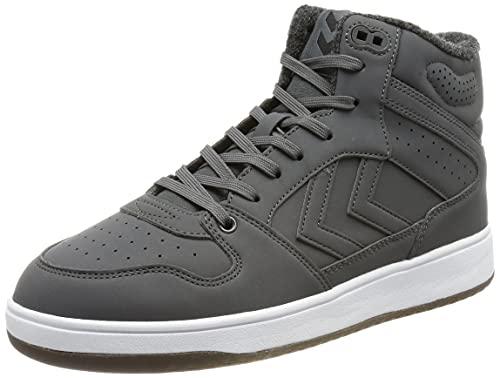 hummel Unisex ST Power Play MID Winter Sneaker, Magnet, 40 EU