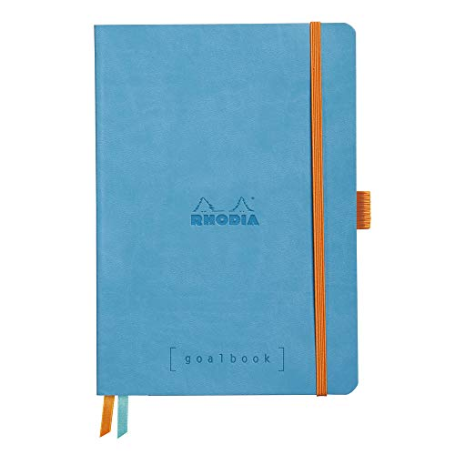 Rhodia Goalbook Journal, A5, Dotted - Turquoise Blue