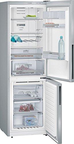 Siemens KG36NXL41 iQ300 Kühl-Gefrier-Kombination / A+++ / 186 cm Höhe / 172 kWh/Jahr / 234 Liter Kühlteil / 86 Liter Gefrierteil / In coolBox ist es 2-3 Grad kühler als Kühlraum