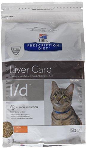 Hills Prescription Diet l/d Feline hepatic healt mangime Secco per Gatti con patologie renali kg.1,5