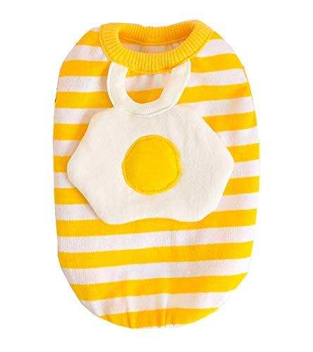 CYXYX Kleine Hundekatze Kleidet Reizendes Ei-Haustier-Weiches Weste-Feiertags-Halloween-T-Shirt Für Welpen-Frühling Und Sommer,XL