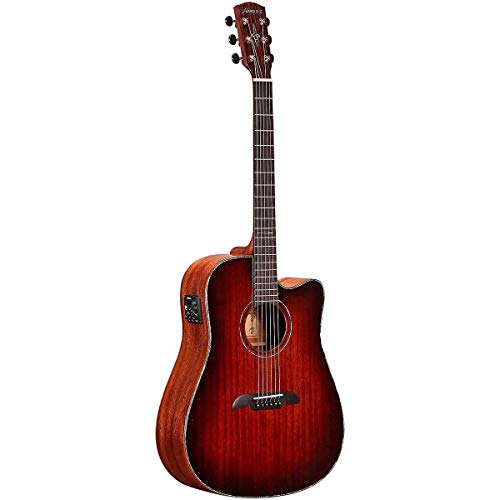 Alvarez MDA66CESHB Masterworks A66 Series Dreadnought Acoustic-Electric Guitar