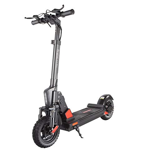 Patinetes eléctricos Adulto, Altura Ajustable Scooter eléctrico Plegable, Freno electrónico E-ABS, Potente...
