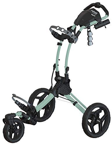 Clicgear Rovic Model RV1S Swivel | 3-Wheel Golf Push Cart (Mint)...