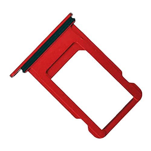 Porta Scheda Nano SIM per Apple iPhone 7, Parte di Ricambio Originale, Rosso