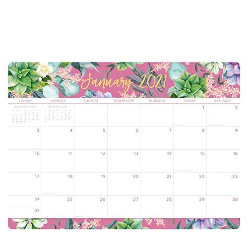 2021 Calendar Planner Family Planner From January 2021 To December 2021, 12 Month Calendar 476x340mm (Purple)